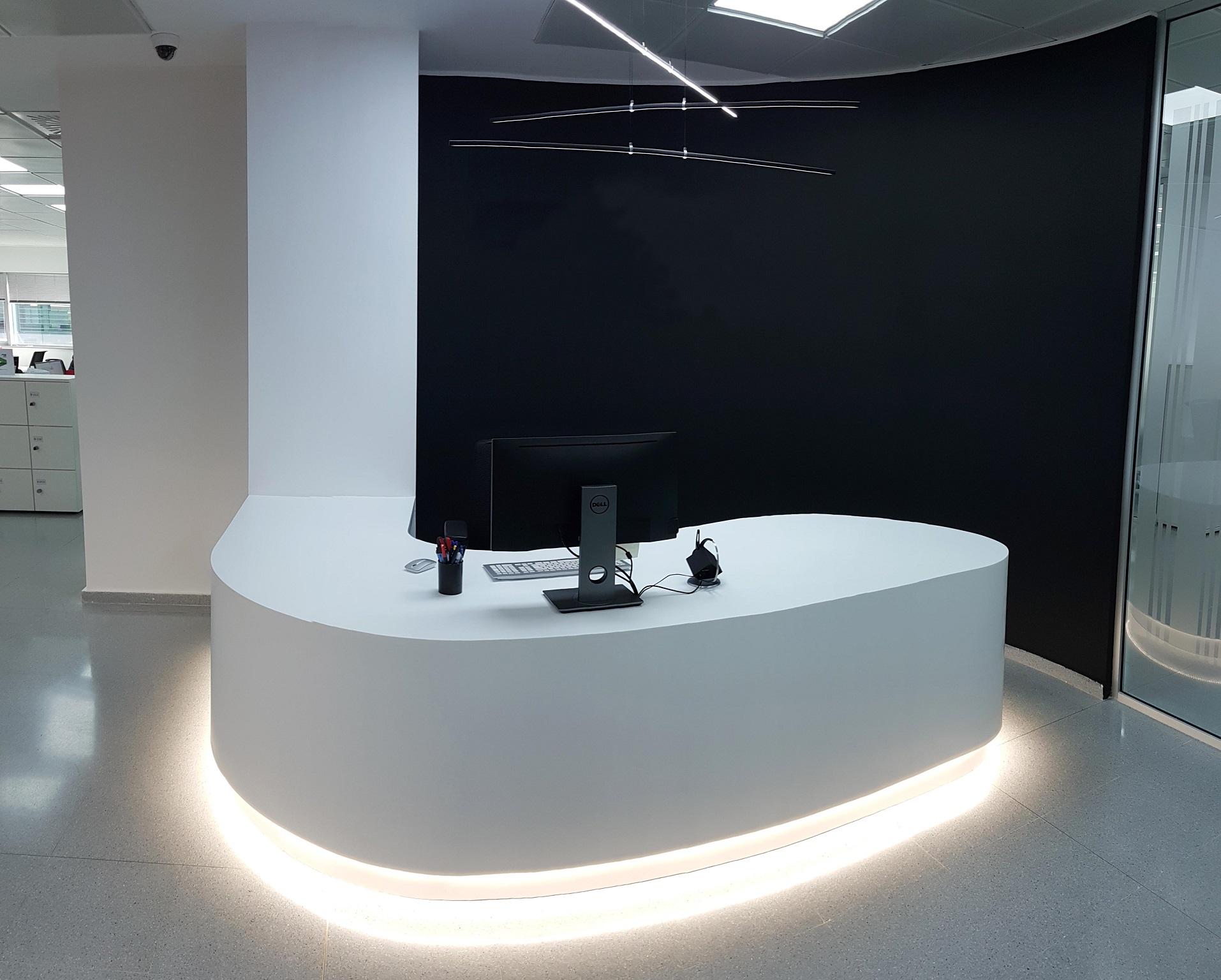 Proyectos de oficina en Sevilla: Diseño y decoración de espacios de recepción