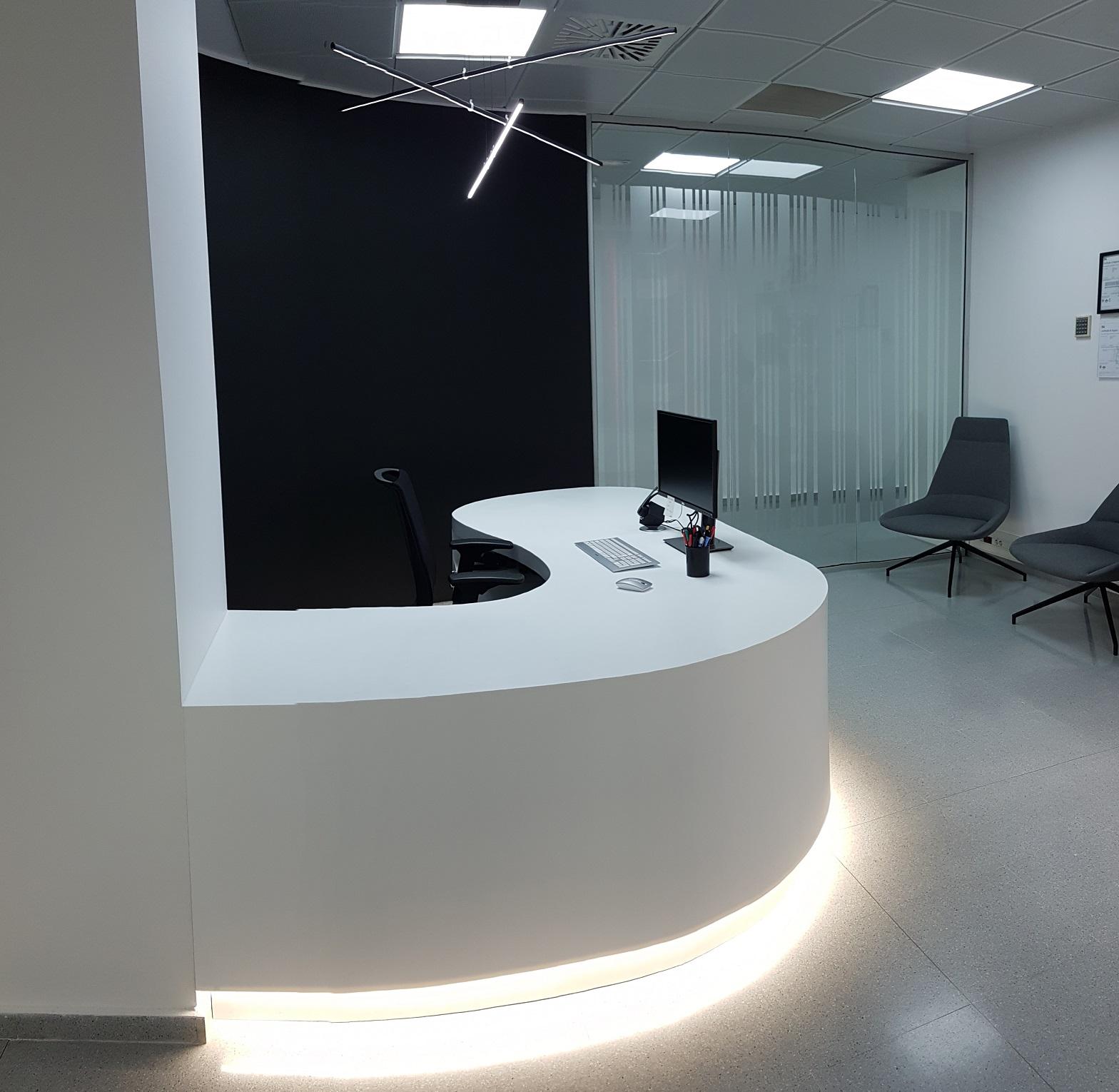 Proyectos de oficina en Sevilla: Decoración de zonas de recepción