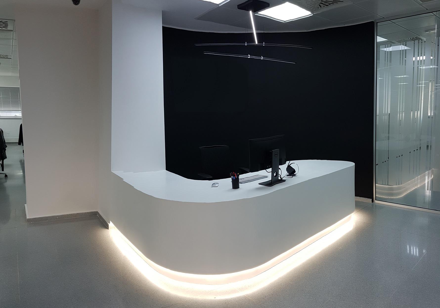 Proyectos de oficina en Sevilla: Diseño y decoración de zonas de recepción