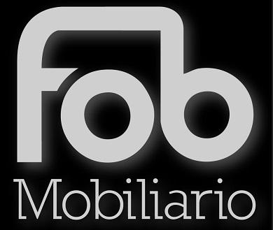 Diseño de oficinas en Sevilla: Logo blanco Fob Mobiliario